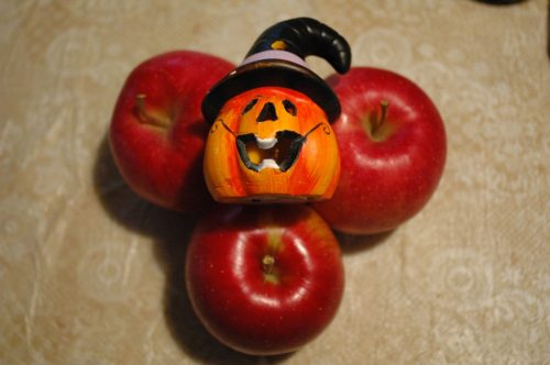 りんごとかぼちゃ